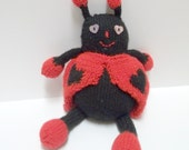 Plush Ladybug Toy - Love Bug - Stuffed Animal