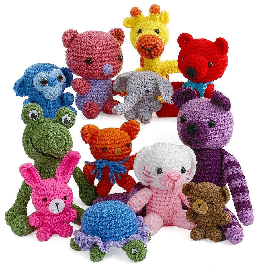 Amigurumi Yarn Size : Crochet Pattern Adorable Amigurumi Toys pdf by gourmetcrochet