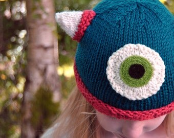 Wool Monster Hat - Toddlers and Kids
