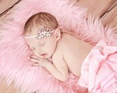 Pink Tiara Headband, Ready To Ship, Pink Crystal Princess Crown for Newborn Baby, Infant Girls, Toddler Girls Tiara, Children Photo Prop