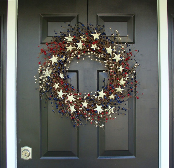 Rustic 4th Of July Wreath