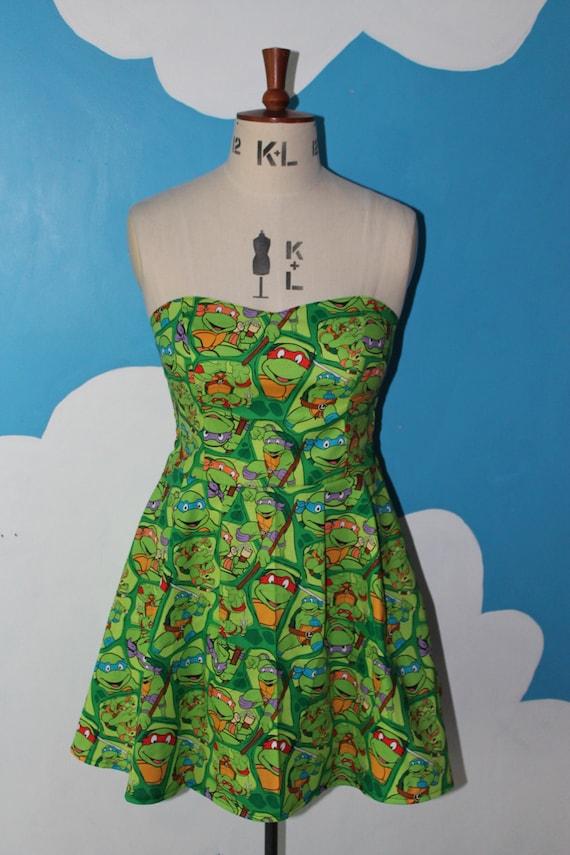 mutant turtles shells sweet dress all
