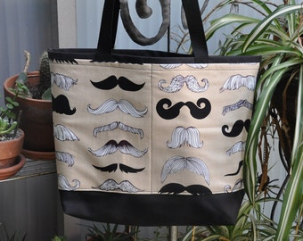 Moustache Shopping Bag