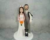 Nurse & Cameraman Custom Handmade Wedding Cake Topper