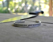 We All Go A Little Mad Sometimes Bracelet - Halloween - Horror Spooky - Scary - For Him - Unisex - Psycho - Looks LIke Silver - Movie -Dark