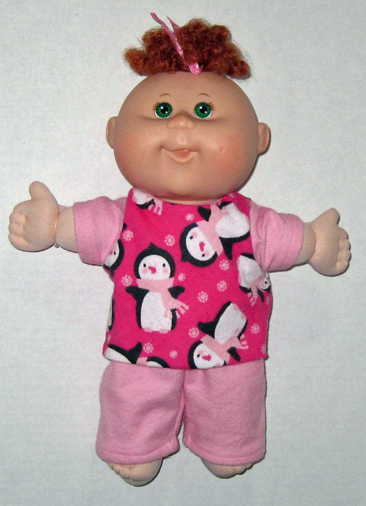 cabbage patch doll clothes penguin pajamas 10 or 11