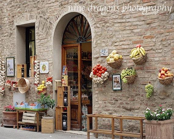 Rustic italian wall decor : Rustic home decor italian photographykitchen wall