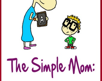New Mom-The Simple Mom Pregnancy Book-Mommy Bookshelf-FREE Mom Gift with Any LaDy LaDuke Purchase-Bonus 19 Superfoods Recipes