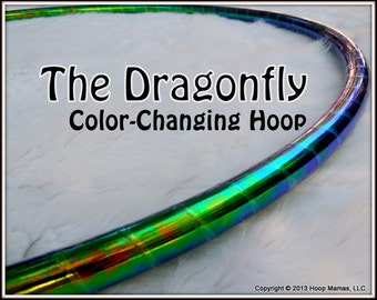 """BeaUtiFuL CoLoR CHaNGiNG 'DRaGoNFLY'  * Available in 3/4"""" OD Polypro, 5/8"""" THiN, OR 1/2"""" Advanced Tubing! Free inside grip option!"""