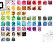 Your Choice of 100 YKK Brand 10 Inch Zippers Mix and Match - Choose from 65 light, bright, dark, neutral and vibrant colors