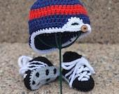 The Baseball Set II - Crochet Photo Prop.