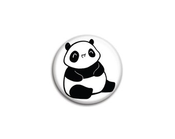 Maru the Chubby Baby Panda Pinback Button