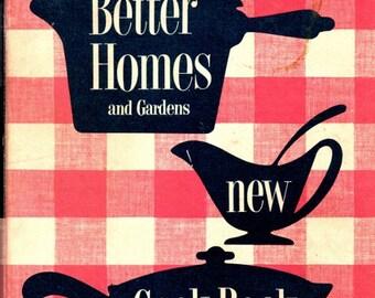 1950s Vintage Better Homes and Garden New Cookbook/5 Ring Binder 1st Edition Cookbook