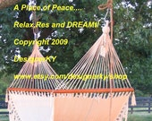 A Place of Peace.  Relax, rest and DREAM!  8 x 10 inch Archival Photograph