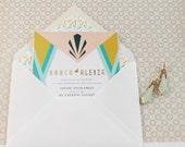 Art Deco Event-  printable Invitation