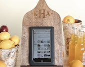 Personalized Cutting Board iPad Stand Kindle, Nook, Tablet Holder Country Kitchen Wedding Gift (Item Number 140377) NEW LISTING