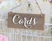 Rustic Cards Sign Barn Wood Countryside Wedding (Item Number MHD100007) Design Morgann Hill Designs