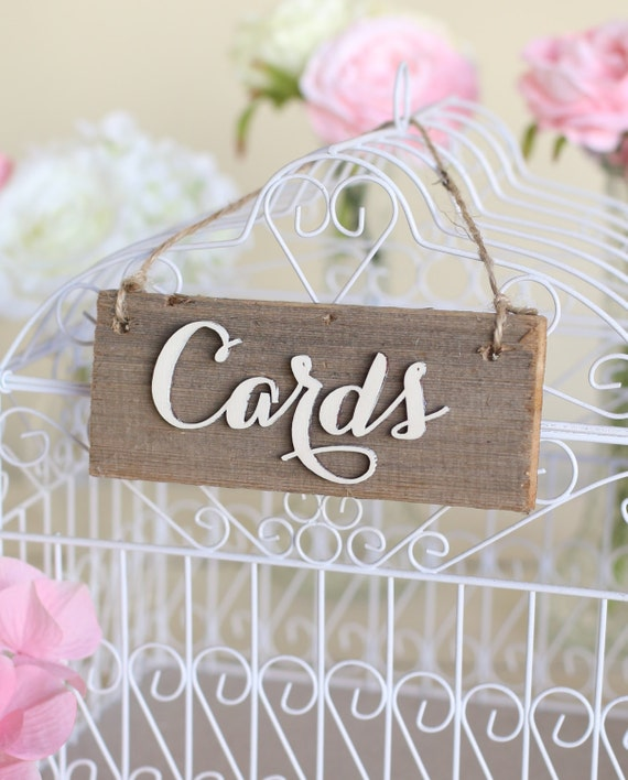 Custom Wedding Accessories Savannah Live Oak Thumbprint: Custom Wedding Accessories: Rustic Cards Sign Barn Wood