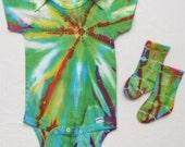 Tie Dyed Onesie Set, Size 18 Months