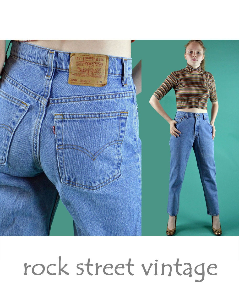 80s vintage levis high waisted jeans womens distressed faded