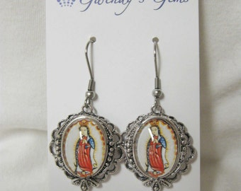 Our Lady of Guadalupe earrings - AP06-506
