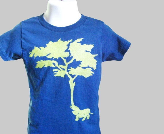 Elephant Tree Organic Kids T Shirt