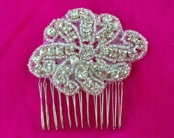 Bridal Rhinestone Hair Comb - Wedding Hair Accessories, Wedding comb with crystals, Crystal hair-comb, Special occasion hair comb