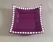 Catchall Dish - Plum Purple