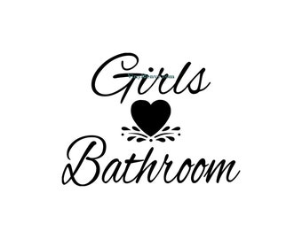 Girls bathroom on disney princess bedroom