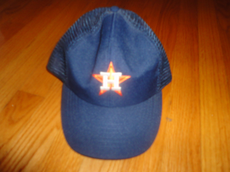 5b491987 VintageTrafficUSA: HOUSTON ASTROS vintage MLB snapback mesh trucker ...