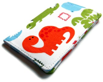 Card Wallet - Dinosaur - business card holder, credit card holder, gift card holder