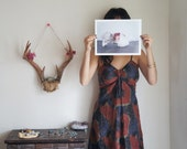 They're Pretty Too // Deer Skull Botanica Photograph Print // 8.5 x 11 in. Glossy Print - MyrandaE