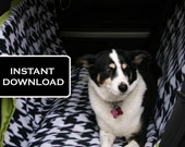 PDF Tutorial: Dog Car Seat Cover Hammock DIY Pattern
