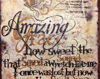 Amazing Grace Painting
