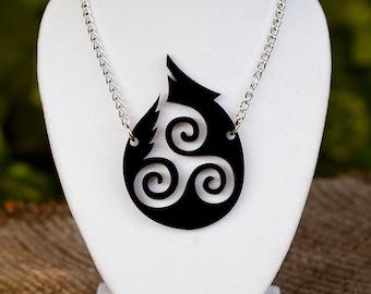 Last Chance // Teen Wolf  Necklace // Hale Triskelion Necklace
