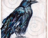 The Raven - Print of an Original Painting