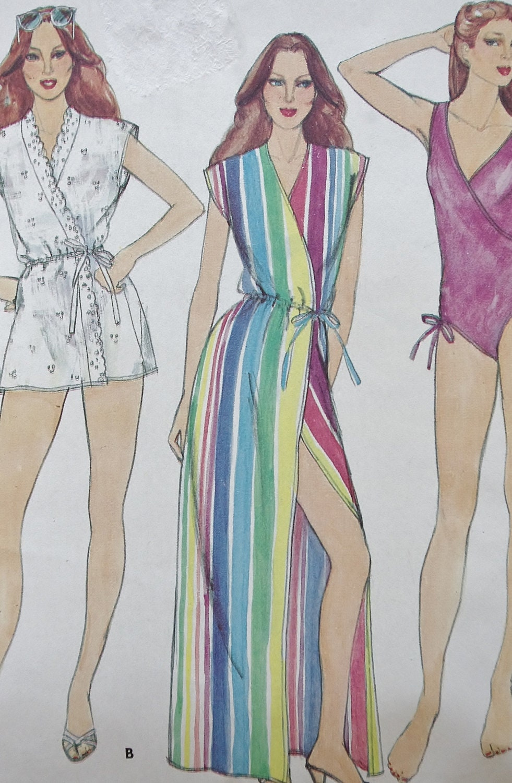 vintage swimsuit pattern eBay