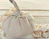 Fabric Pumpkin-Rustic-Seaside