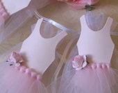 Ballerina birthday theme party Favor Bags 10 pieces