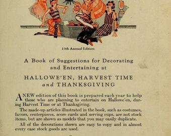 13th Annual Dennison Bogie Book 1920s Instant Download pdf