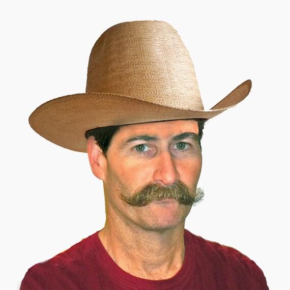 Vintage Bangora 10 Gallon Straw Cowboy Hat 10 Gallon Cowboy Hat Front