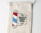 Baby's First Curl Keepsake Pouch & Haircut Certificate