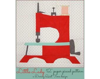 Little Lady Paper Pieced Pattern