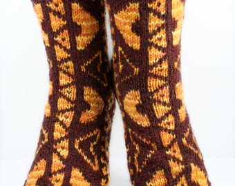 WAHINE SOCKS - Superwash Merino Wool, Nylon
