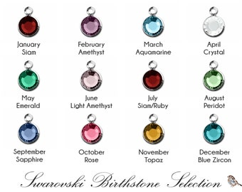 Swarovski Birthstone Crystal Add-On