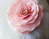 Fabric Flower Tutorial - Hand Pressed Flower, Rose Flower, Silk Flower Tutorial, PDF Pattern & Tutorial, Silk Flower Making, Flower Tutorial