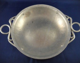Aluminum Dish for Candy or Trinkets BW Buenilum