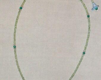 Delicate Flower Necklace Set