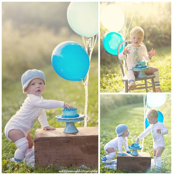 Baby Gifts For Second Boy : Items similar to baby boy cake smash any number age