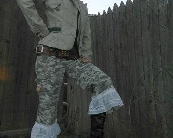 Dieselpunk Upcycled Pants